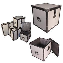 Trunk 14 Inch Cube Tuffbox Road Case - 1/4 Ply Medium Duty -