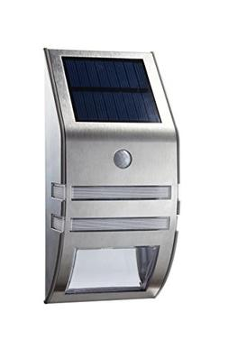 OxyLED TSP-02 Solar Motion Sensor LED Wall Mount Path Light,