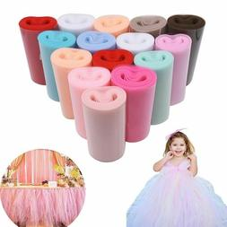 Tulle Roll 25Yards Fabric Spool Tutu Party Baby Birthday Wed