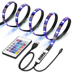 AMIR TV LED Light Strip, 30 LED TV Backlight Strip, USB Bias