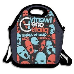 Twenty One Pilots World Tour 2014 Lunch Bag For Men Women An