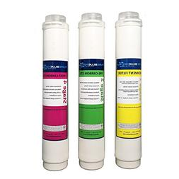 Pure Blue H2O 3 Pack Twist Lock Replacement Filters