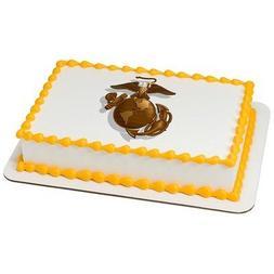 U.S. Marine Corps Licensed Edible Cake Topper #8432
