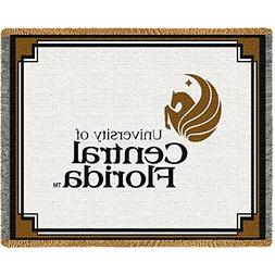 UCF University of Central Florida Throw Blanket Woven Afghan