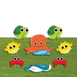 Under The Sea Critters - Yard Sign & Outdoor Lawn Decoration