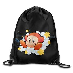 Boomy Unique Waddle Dee Amiibo Drawstring Bags For Men & Wom