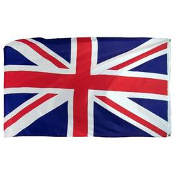 Online Stores United Kingdom Printed Polyester Flag, 3 by 5-