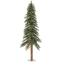 Vickerman 6' Unlit Natural Alpine Christmas Tree