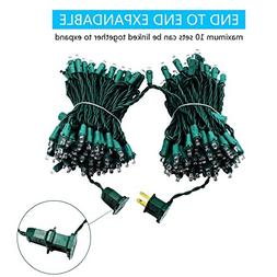 MZD8391 Upgraded 66FT 200 LED Christmas String Lights Outdoo