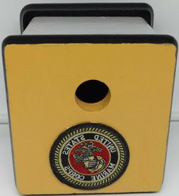US Marines/Military Birdhouse~Official Emblem~Exterior Paint