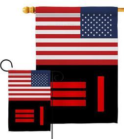 US Master Slave Pride Garden Flag Support Small Decorative Y