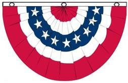 USA Bunting Flag 5x3 feet Polyester