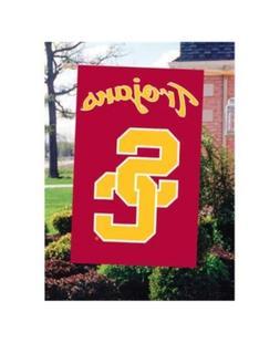 Party Animal Usc Trojans Applique House Flag