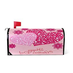 Valentine's Day Hearts Magnetic Mailbox Cover MailWraps, Pin