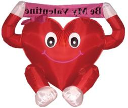4 Foot Valentine's Inflatable Sweet Heart Yard Decoration