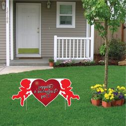 Valentine's Lawn Decoration - Happy Valentine's Day Cupid 2'