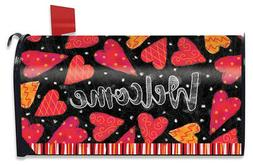 Valentine Magnetic Mailbox Cover Hearts Valentine's Day Stan