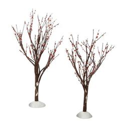 Department 56 Accessories for Villages Winter Berry Trees Ac