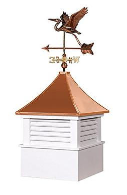 East Coast Weathervanes and Cupolas Vinyl Attleboro Cupola W