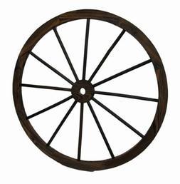 """Wagon Wheel 32"""" Wooden Large Decorative Home Garden Yard - W"""