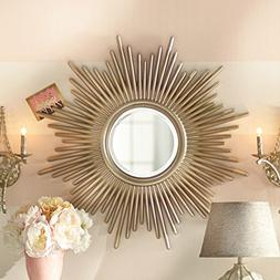 Wall Mirror Decorative Accent Hardy Collection Features a Su
