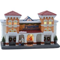 "6"" Walmart Supercenter Christmas Village , Holiday Time"