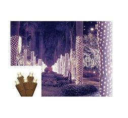 2' x 8' Warm White LED Net Style Tree Trunk Wrap Christmas L