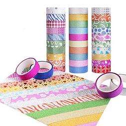 Washi Tape Beautiful Patterns Removable Packaging Crafts Dec