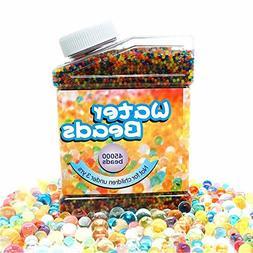 Aweoods Water Beads Rainbow Mix , Water Growing Balls for Ki