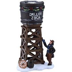 "Holiday Time 5.5"" Water Tower Christmas Village"