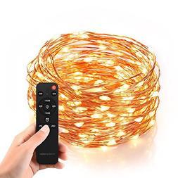 Homestarry Waterproof Decorative Outdoor String Lights, 20 F