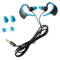 Waterproof EarphonesIPX8 Grade for Swimming Running and Othe