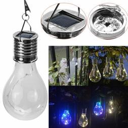 Waterproof Hanging Solar LED Light Lamp Bulb Outdoor Garden