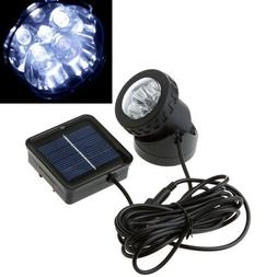 Waterproof Solar Powered LED Spotlight Spot Light Lamp Garde