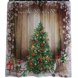 BROSHAN Vintage Christmas Tree Holiday Presents & Ornaments