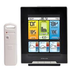 Color Weather Station with Morning, Noon & Night Forecast
