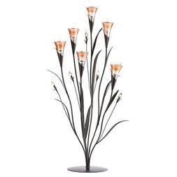 Gifts & Decor DAWN FLOWER CANDLEHOLDER