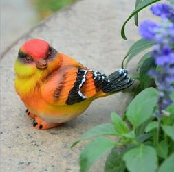 Wedding LOVE Birds Resin Statue Figurine Home Garden Decor O