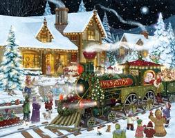 Whistle Stop Christmas Advent Calendar