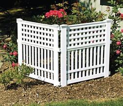 "32"" WHT GrandView Fence"