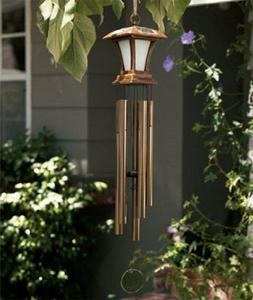 This New Large Wind Chime Solar Powered Light Is a Beautiful
