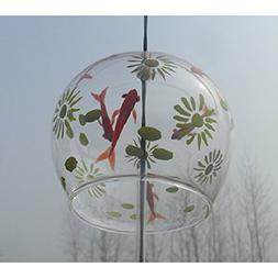 Wind Chimes Wind Bells Handmade Glass Birthday Gift Valentin