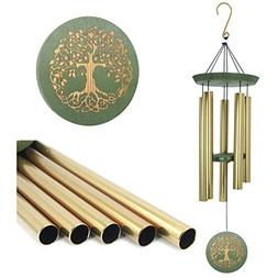 """Wind Chimes Outdoor Deep Tone,36""""Large Memorial Windchimes"""
