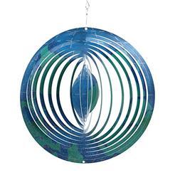 CEDAR HOME Wind Spectrum Spinner Outdoor Hanging Metal Sculp