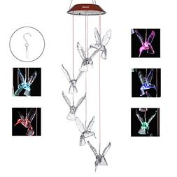 IMAGE Outdoor Windlights Solar Powered LED Changing Light Co