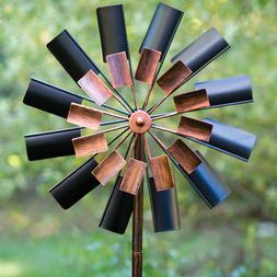 Windmill Sculpture Wind Spinner Outdoor Lawn Décor Durable