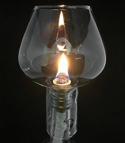 Firefly Wine Bottle Oil Lamp Kit, 3/8 Fiberglass Wick & Alum