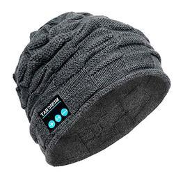 PASATO New Winter Unisex Bluetooth Wireless Smart Beanie Kee