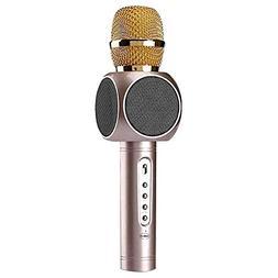 Wireless Microphone Karaoke Pro, 3-in-1 2600mAh Bluetooth Al