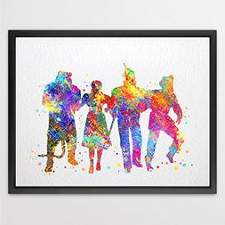 Dignovel Studios 8X10 Wizard of OZ Inspired Multicolored Wat